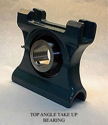 overall height: Dodge TPGXR115 Take-Up Ball Bearing Units