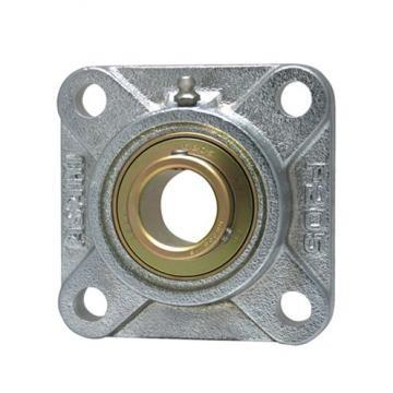 radial static load capacity: AMI Bearings UFL002 Flange-Mount Ball Bearing Units